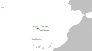 Convoy HG 76 - Image: Madeira Location