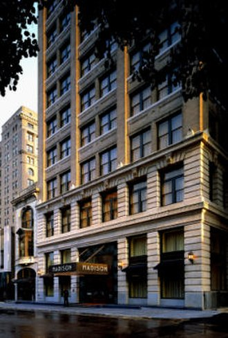 Boutique hotel - 110-room Madison Hotel in Memphis, Tennessee