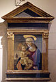 Maestro di san miniato, madonna col bambino, 1460.JPG