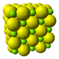 Magnesium sulfide crystal structure