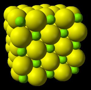 Magnesium sulfide - Image: Magnesium sulfide 3D ionic