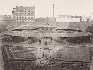 Mazas Prison - The Mazas Prison ca. 1876 - 1880.