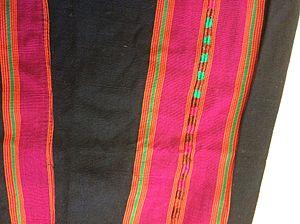 Palestinian costumes - Majdali weaving. Gaza 1950's