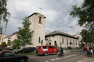 August Nielsen - Image: Majorstuen Kirke 20080511 1