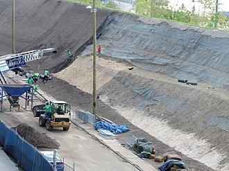 Brooklyn Bridge Park - Under construction (September 2014)