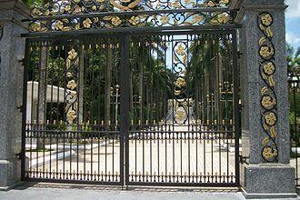 Istana Negara, Jalan Istana - Palace gates