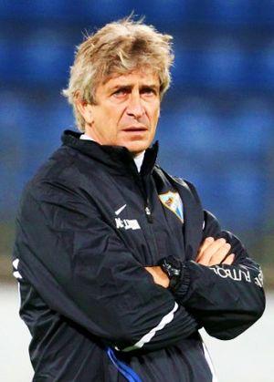 Manuel Pellegrini - Pellegrini with Málaga CF in 2012