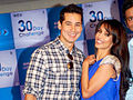 Malaika makes Dino and Ritwik shave at 'Gillete 30 Day Challenge' event(4).jpg