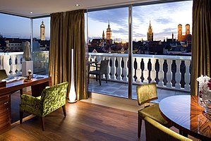 Mandarin Oriental, Munich -  View from a Suite at Mandarin Oriental, Munich