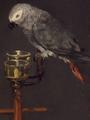 Manet, La Femme au perroquet, detail.png