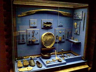 Mangazeya - Materials of archaeological excavations in Mangazeya (State Historical Museum, Moscow)