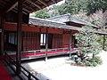 Manshu-in Buddhist Temple - Writing alcove.jpg
