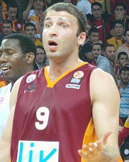 Georgian professional basketball player