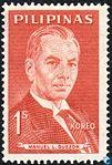 Manuel L. Quezon 1963 stamp of the Philippines.jpg
