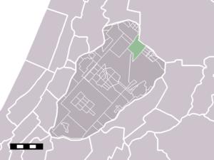 Lijnden - Image: Map NL Haarlemmermeer Lijnden