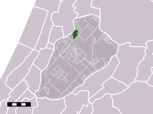 Vijfhuizen - Image: Map NL Haarlemmermeer Vijfhuizen
