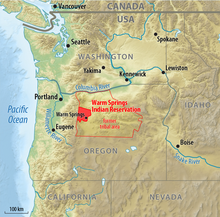 Warm Springs Indian Reservation - Wikipedia on indian tribes around the usa, states of usa, flowers of usa, google map of indiana usa, indian communities in usa, indian tribes of america, indian map of the united states, indian nations of north america, home of usa, indian tribes in usa,