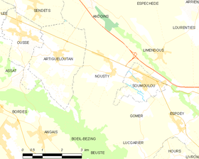 Map commune FR insee code 64419.png