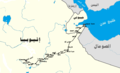 Map of Addis Ababa-Djibouti Railway-ar.png