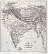 100px map of india%2c showing the chinchona plantations wellcome l0025460