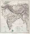 Map of India, showing the chinchona plantations Wellcome L0025460.jpg