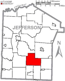 McCalmont Township, Jefferson County, Pennsylvania Township in Pennsylvania, United States