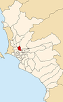 Map of Lima highlighting Rímac.PNG
