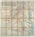 Map of the main battlefields, routes, camps and head qrs., in the Gettysburg, Wilderness and Appomattox campaigns of the Civil War in U.S. LOC lva0000172.jpg