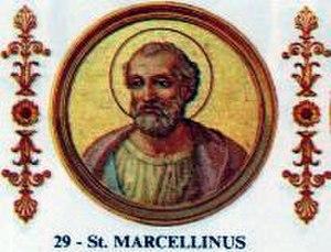 Papal renunciation - Image: Marcellinus