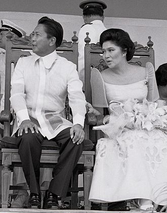 Prime Minister of the Philippines - Prime Minister Ferdinand Marcos and First Lady Imelda Marcos in 1979.