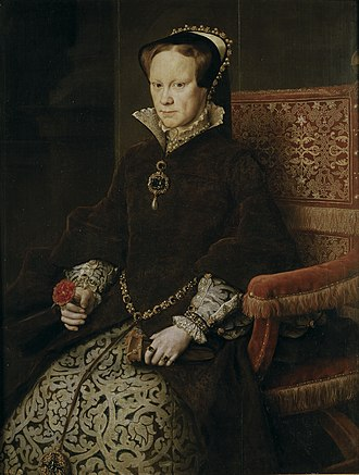 Elizabeth I of England - Mary I, by Anthonis Mor, 1554