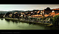 Maribor view on the drava river from the glavni most.jpg