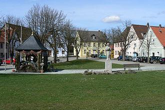 Bayreuth (district) - Image: Marienplatz Hollfeld 01