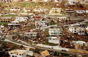 Hurricane Marilyn - Marilyn damage in St. Thomas