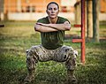 Marine Corps officer candidate participate in physical training.jpg