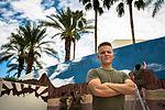 Marine Week Phoenix, Scottsdale Marine paints his hometown 150907-M-XK427-179.jpg