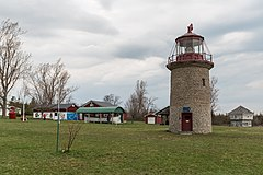 Mariners Memorial Park, Prince Edward County, Southwest view 20170416 1.jpg