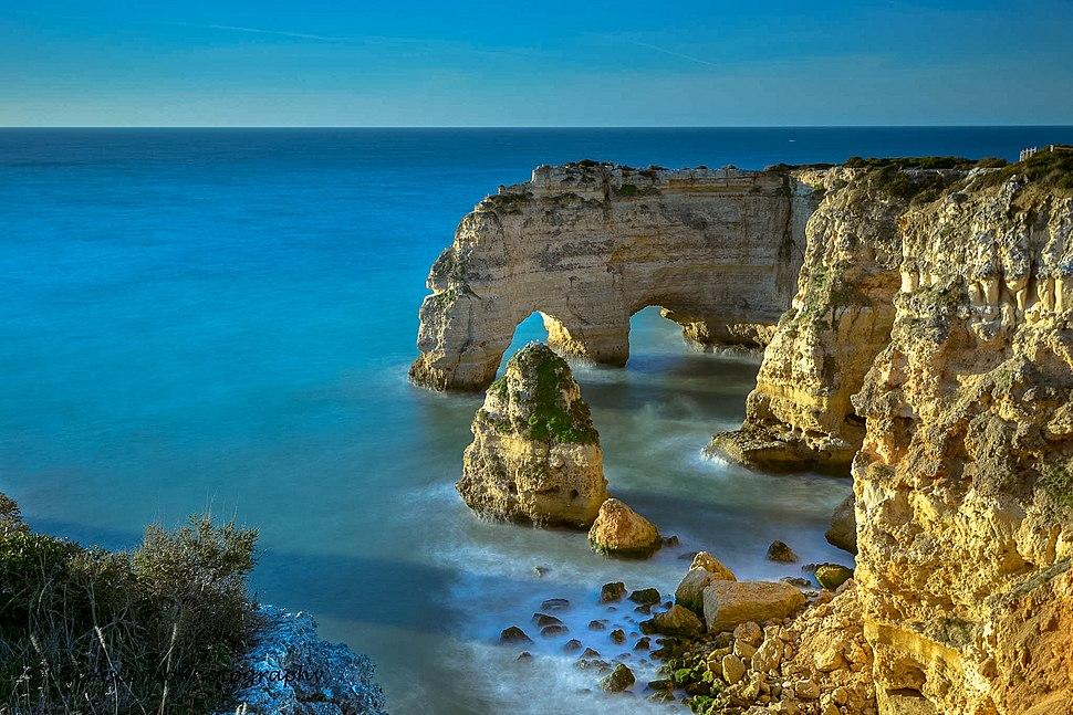 Marinha beach - Algarve (16307543387)