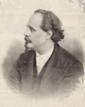 Mario Tiberini - Mario Tiberini circa 1870