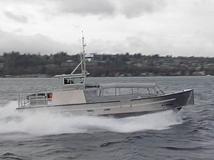 Maritime Prepositioning Force Utility Boat - Image: Maritime Prepositioning Force Utility Boat Side View