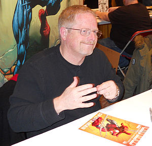 Mark Bagley - Bagley signing autographs at the March 2012 Toronto Comic Con in Canada