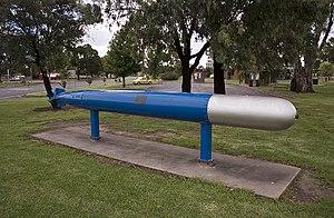 Torpedo - Bliss–Leavitt Mark 8 torpedo
