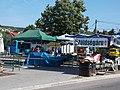 Market at bus terminal. - Dózsa Sq., Táncsics St., Budakeszi.JPG