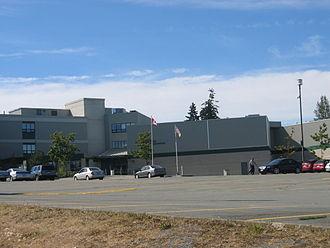 Earl Marriott Secondary School - Image: Marriott sec