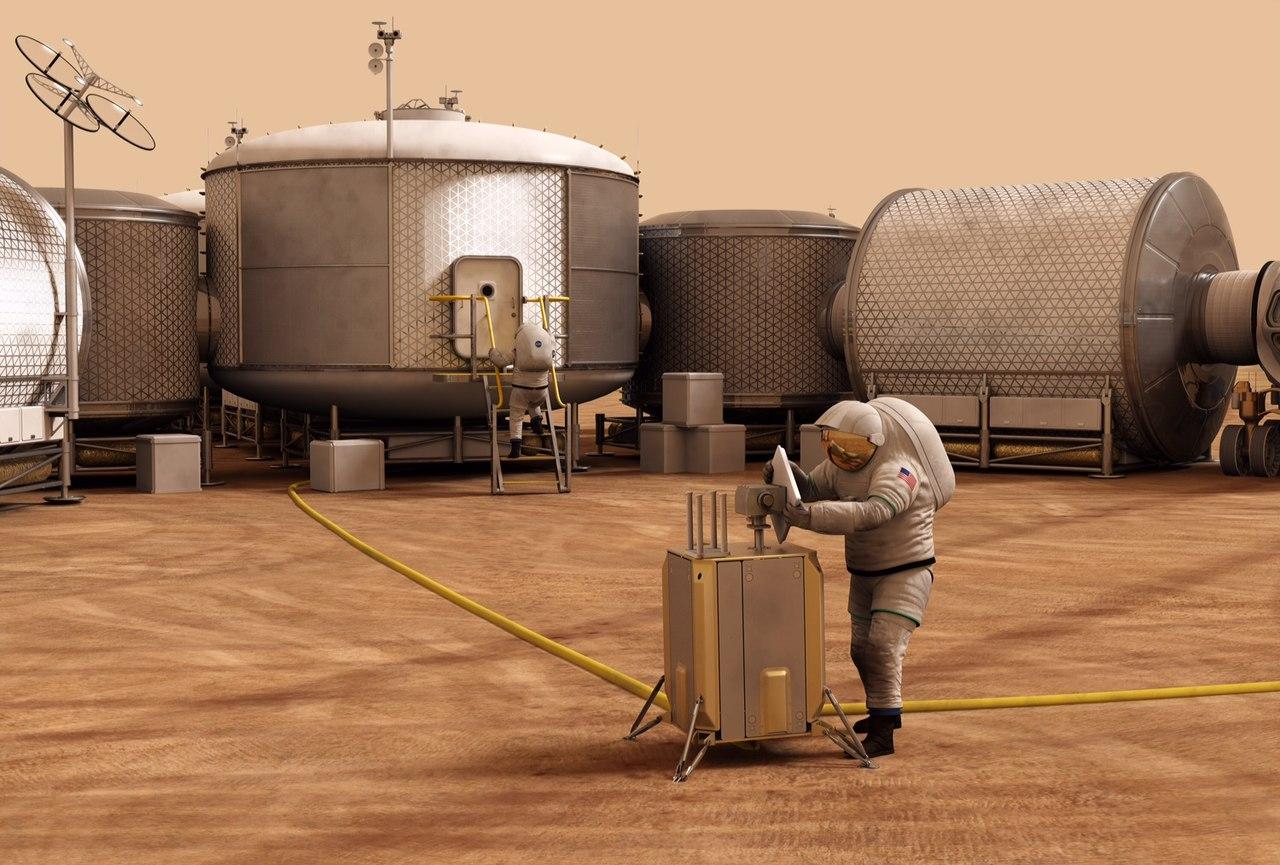 Mars Habit design