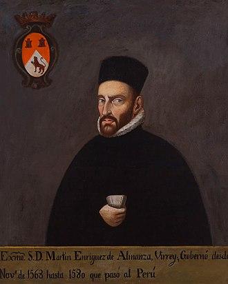 Martín Enríquez de Almanza - Portrait of Enríquez de Almanza, c. 1568