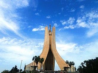 Memorial - Image: Martyrs Memorial. Algiers, Algeria
