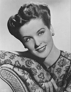 Mary Howard de Liagre American actress