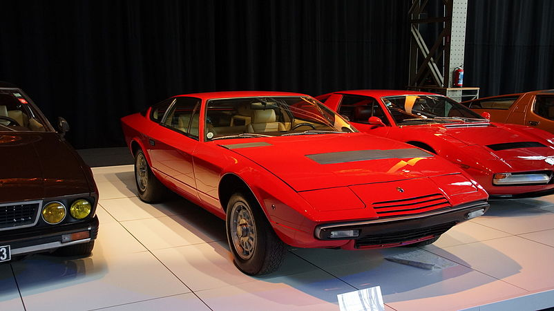 Maserati Khamsin Series II at 100 Years Maserati show at Autoworld Brussels.jpg