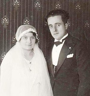 Odoardo Focherini - Focherini and his wife at their wedding.